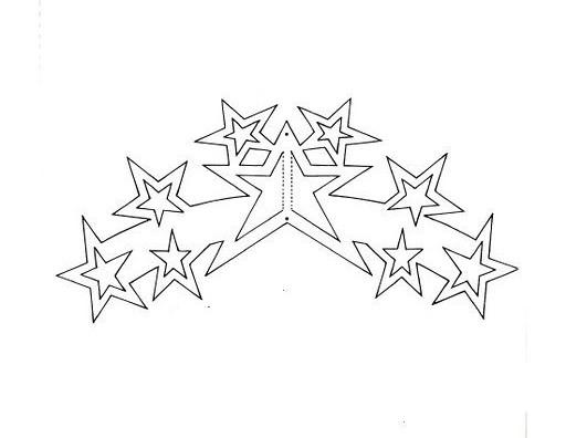 Вытынанки схемы звезда