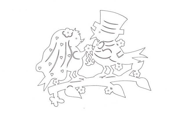 птички свадьба