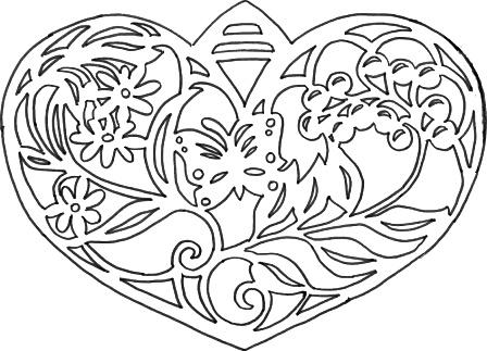 сердце_2 сердце с веточкой